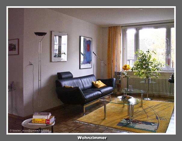 Memoiren 185 meine wohnung im schafmattweg autobiografie - Esszimmer wohnzimmer aufteilung ...