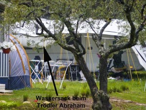 Wassersack beim Trödler Abraham