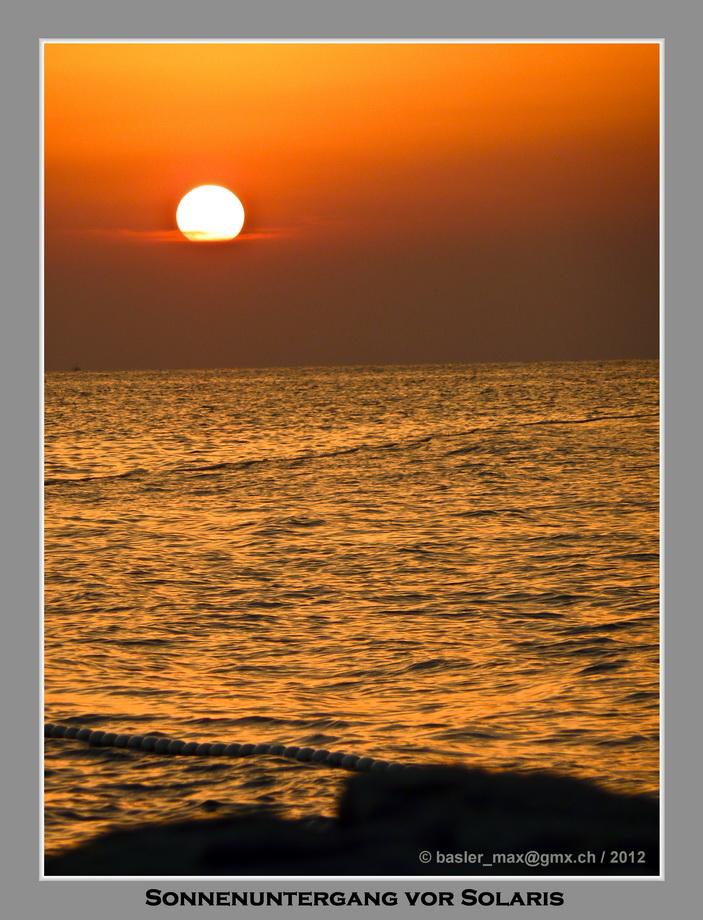 Sonnenuntergang über Solaris