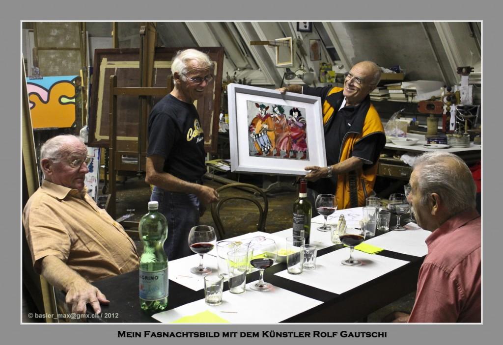 Basler Fasnacht: Trommler und Pfeiffer-Gruppe (Rolf Gautschi)