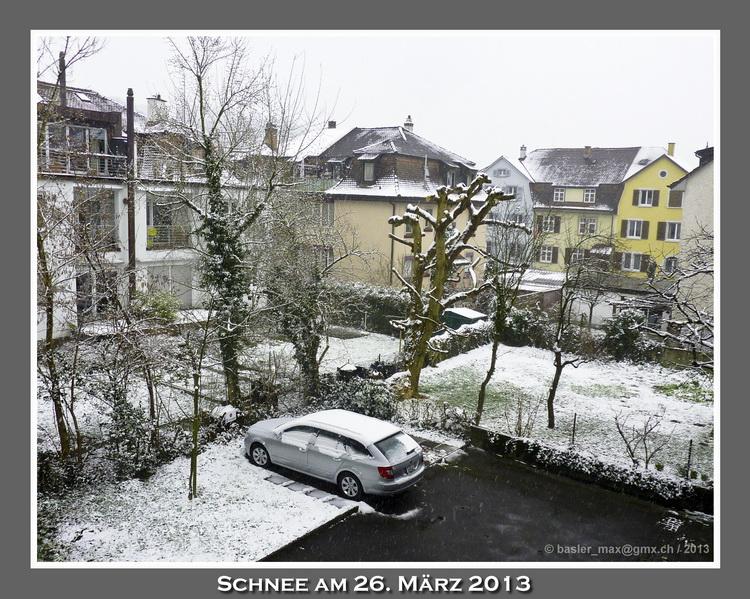 Binningen Schnee