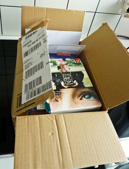 Postpacket von Amazon