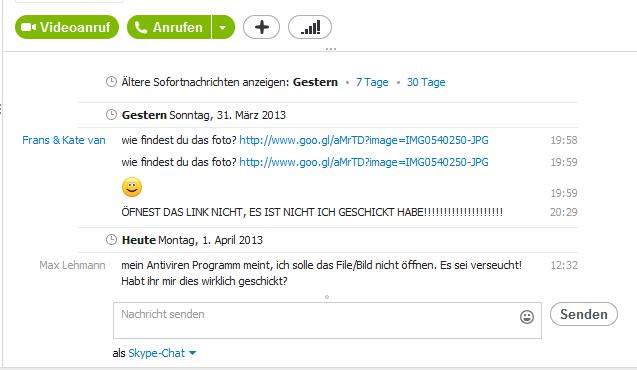 "Bildschirm-Copy des ""GVU-Trojaners"""