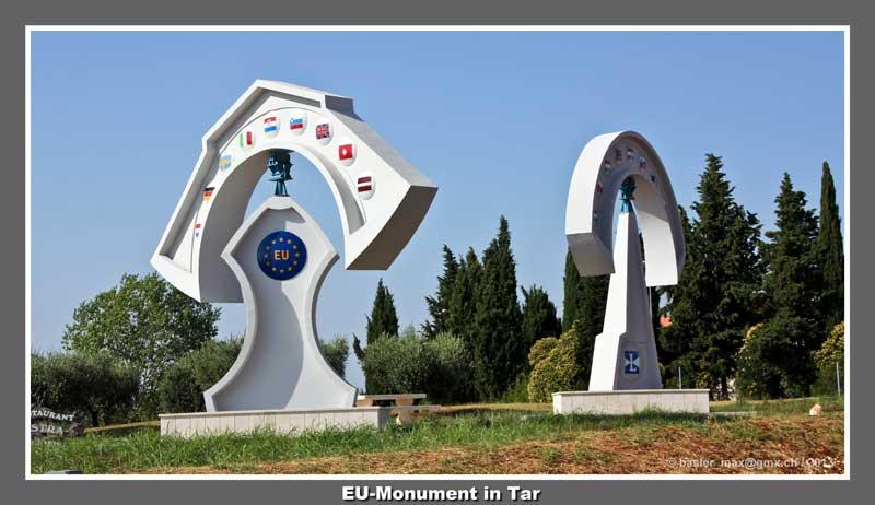Tar Europa EU Monument