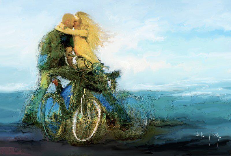 Radfahren ist so schön!