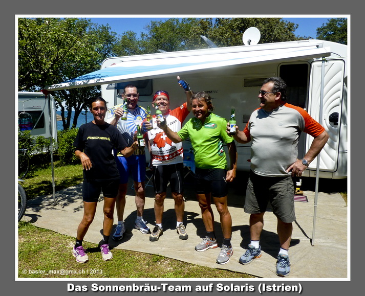 v.l.n.r.: Martina, Ruedi Graf, Max, Klaus, Bernhard