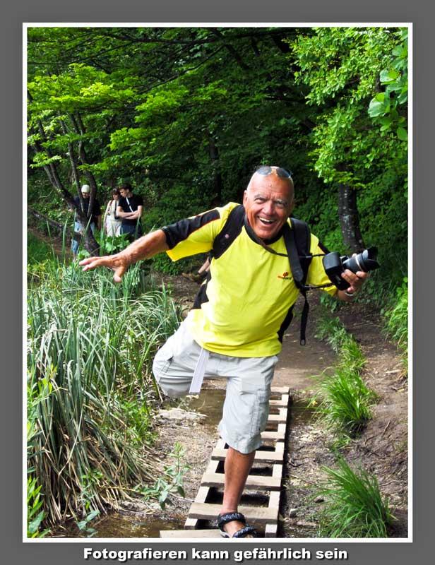Das Leben als Foto-Reporter kann gefährlich sein