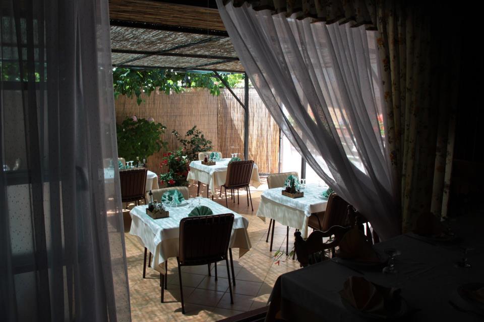 Malo Selo: Blick auf die Idyllische Terrasse