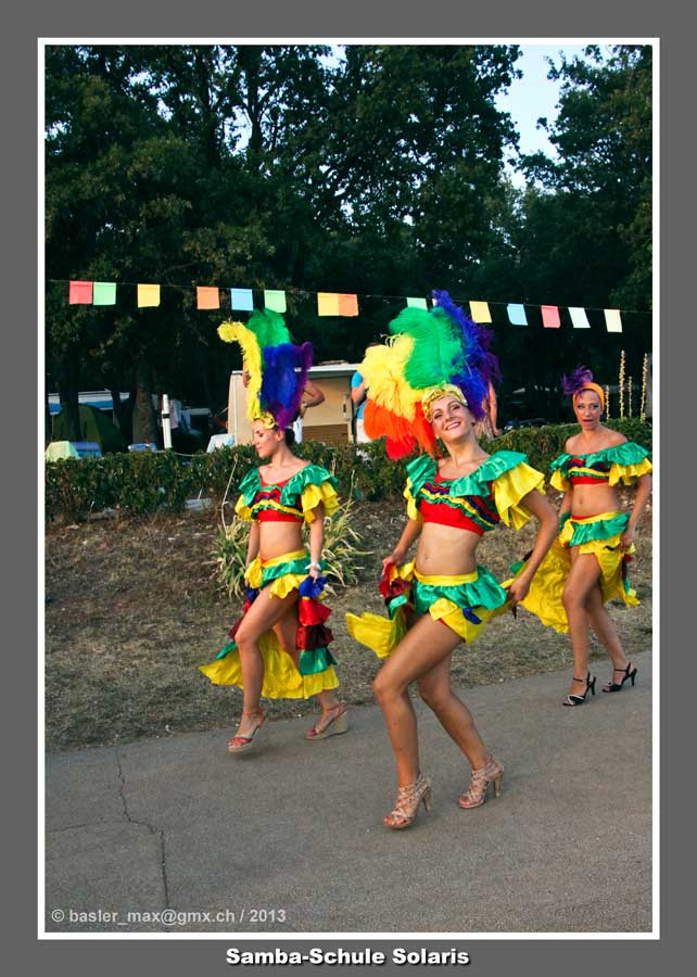 Solaris Carneval 2013: Samba-Schule