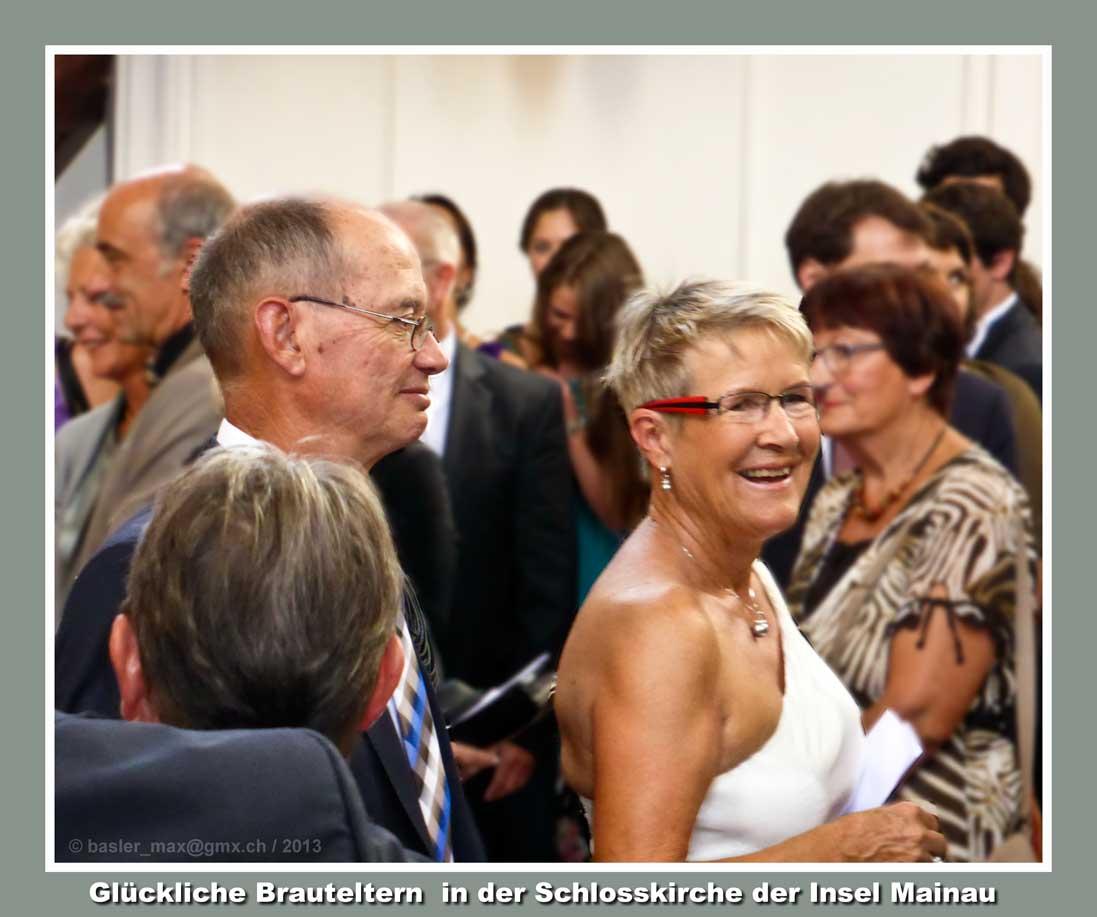 Insel Mainau: Hochzeit Stephanie und Tobias: Schlosskriche St. Marien