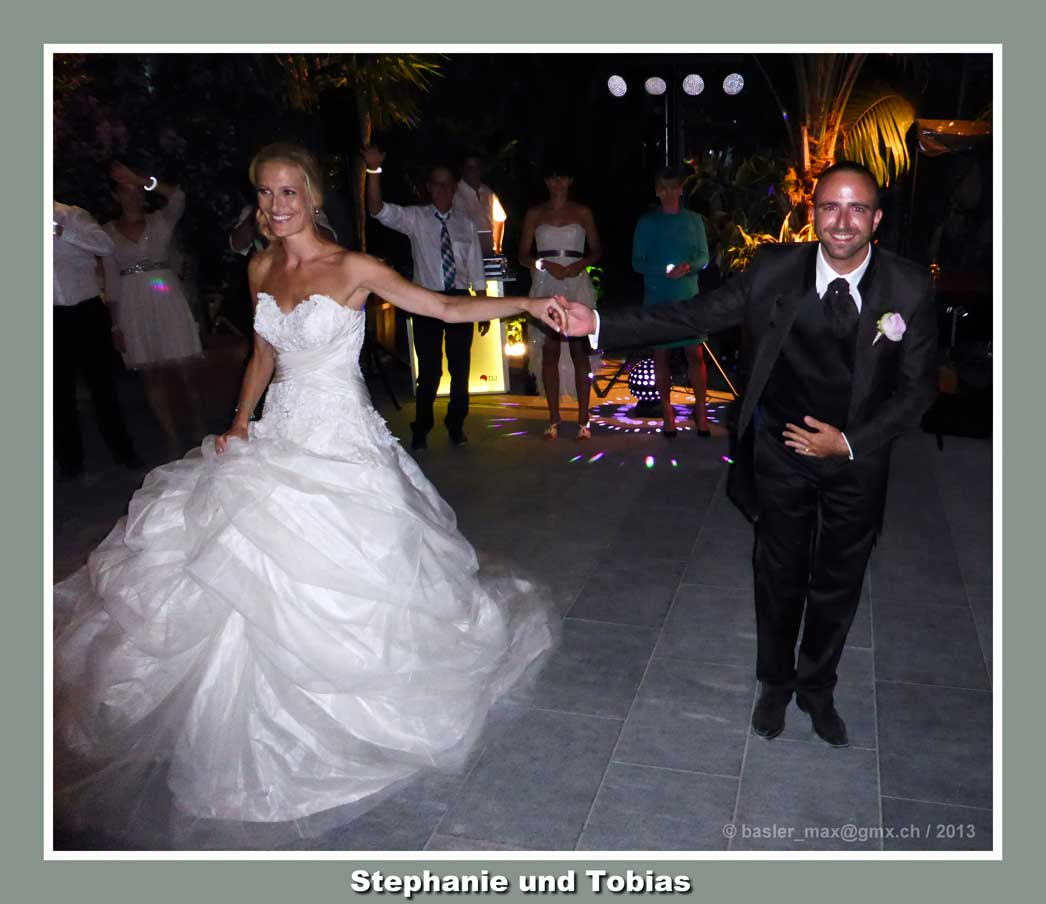 Insel Mainau: Hochzeit Stephanie und Tobias