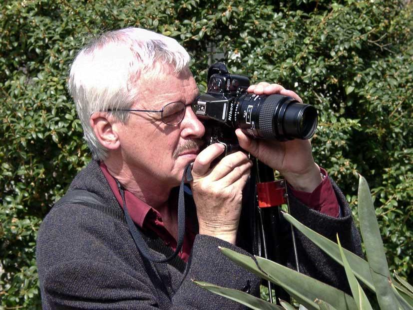 Peter im 2003 im Botanischer Garten Basel