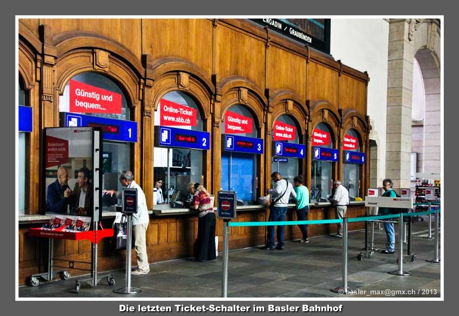 Basel Bahnhof SBB: Schalterhalle