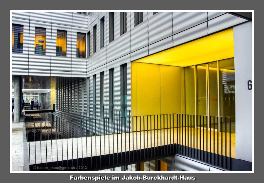 Basel: Jakob Burckhardt Haus