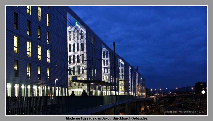 Basel: Jakob Burckhardt Fassade
