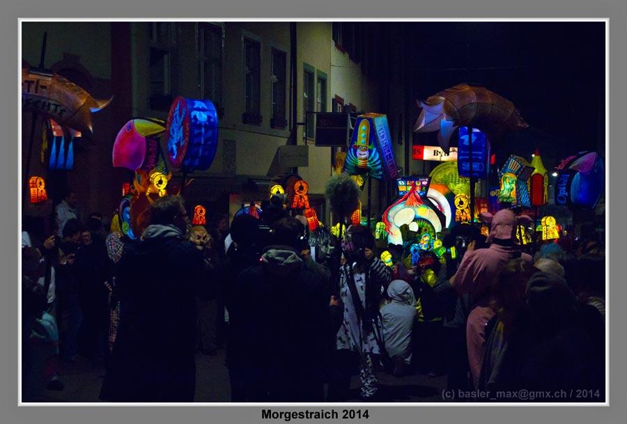 Basler Fasnacht 2014 Morgestraich