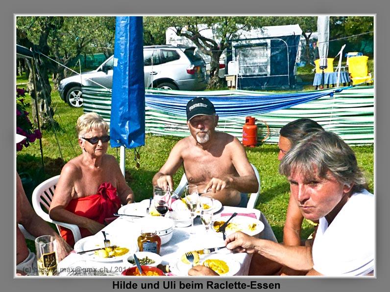 Solaris Raclette-Essen