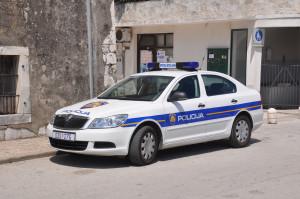 Kroatisches Polizei-Auto