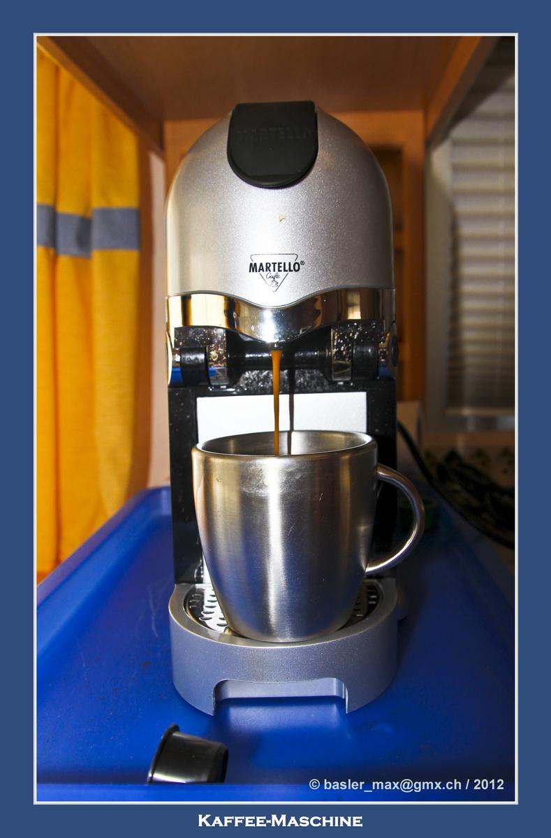 Solaris: Meine Kaffeemaschine im Wohnwagen