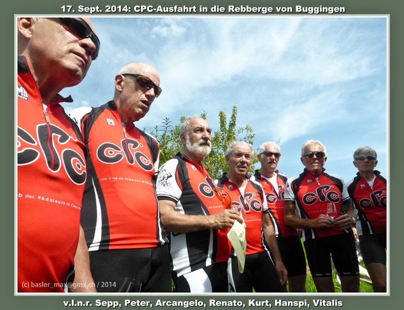 17. Sept. 2014: CPC Ausfahrt nach Buggingen