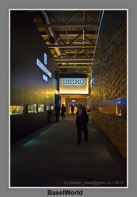 Seiko, Uhren, Schmuck, MUBA, Ausstellung, Baselworld
