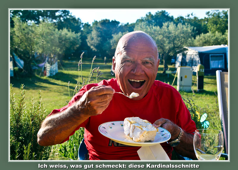 Solaris Essen bei Martina und Klaus: Max mit Kardinalschnitte