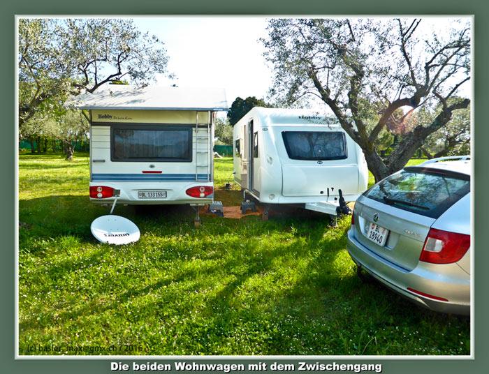 21. April 2016: Mein neuer Wohnwagen Hobby 560 Ffe auf Solaris
