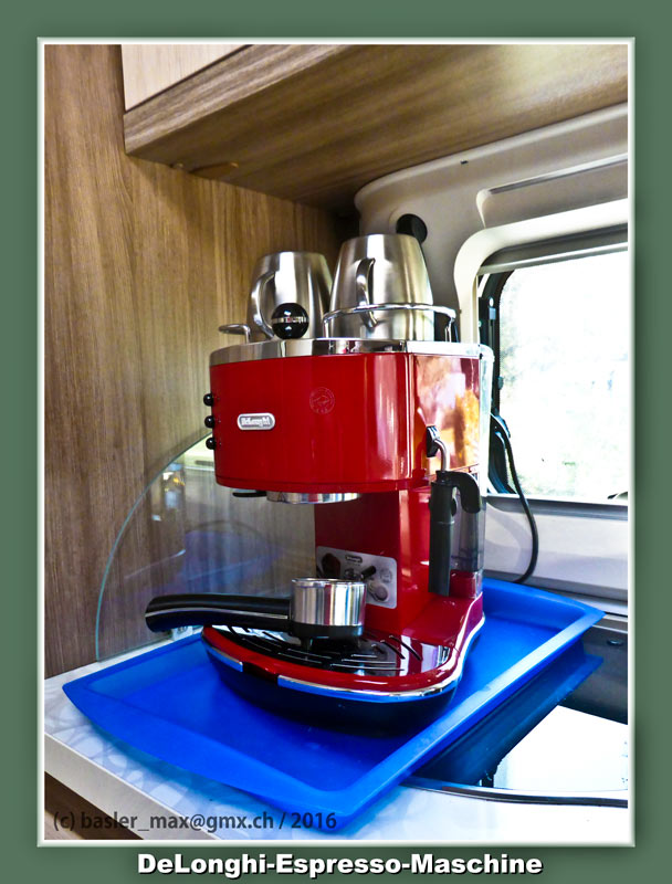Mai 2016: Meine neue DeLonghi Espresso-Maschine