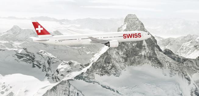 Boeing 777-300 der Swiss