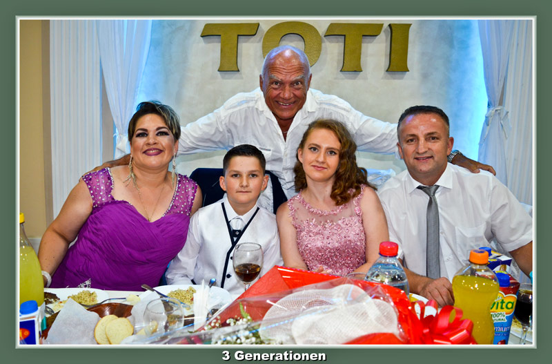 27. Juli 2016: Synet Leon im Kosovo: Familie Krasniqi und Max
