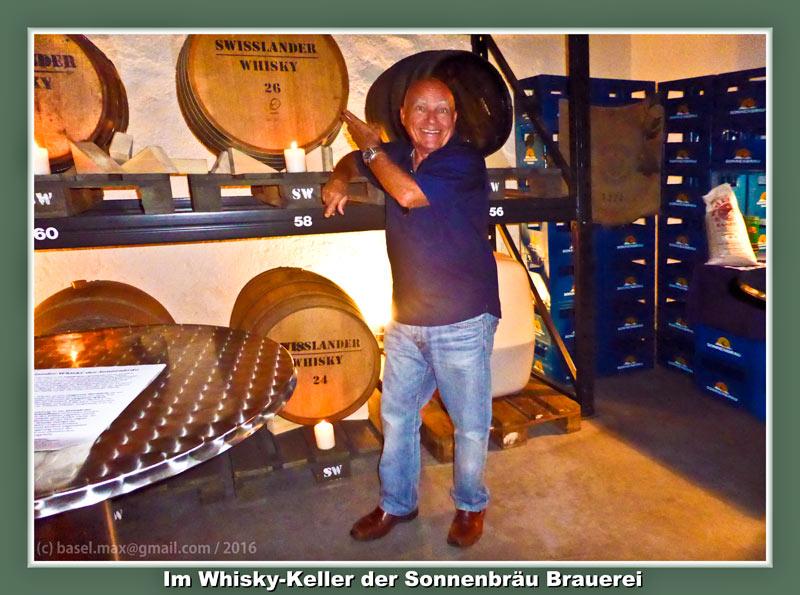 10./11. Sept. 2016: Brauifest Sonnenbräu: Whisky Keller