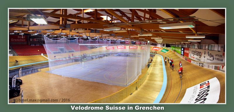18. Okt. 2016: Velodrome Suisse in Grenchen