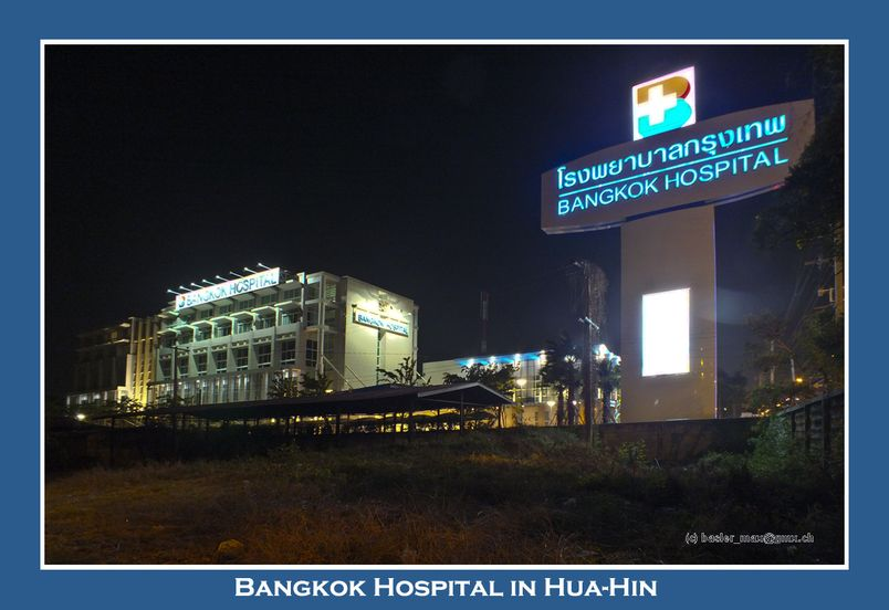 Bangkok Hospital in Hua-Hin