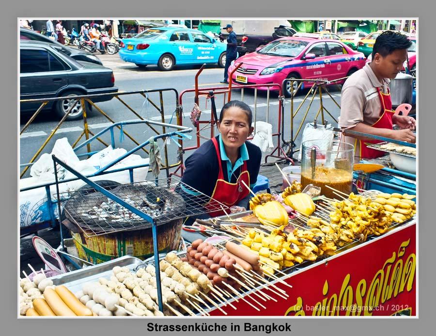 Bangkok: Strassenküche