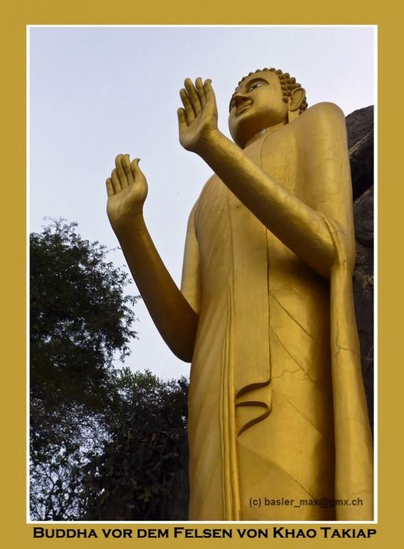 Buddha am Khao Takiab