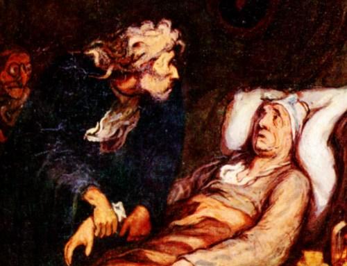 Honoré Daumier: Der eingebildete Kranke