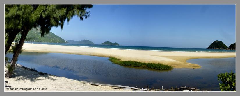 Wunderbarer weisser Strand zwischen Nha Trang und Tuy Hoa