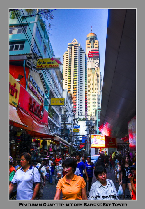 Bangkok Pratunam Shopping