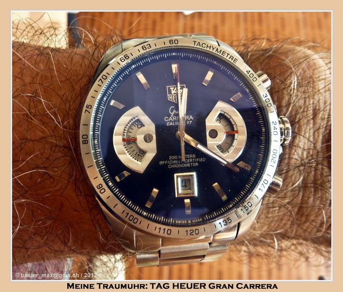 Meine Traum-Uhren: TAG HEUER Grand CARRERA