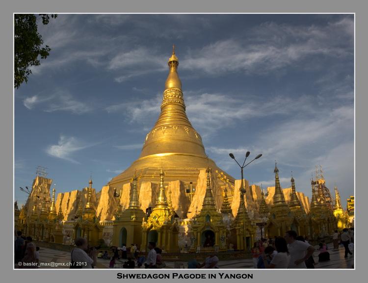 Myanmar Yangon - Shwedagon Pagode