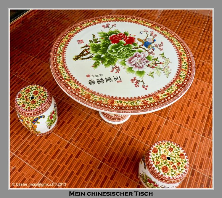 Hua-Hin Chinesischer Tisch