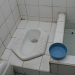 Asiatische Toiletten – kein Toilettenpapier aber eine Brause