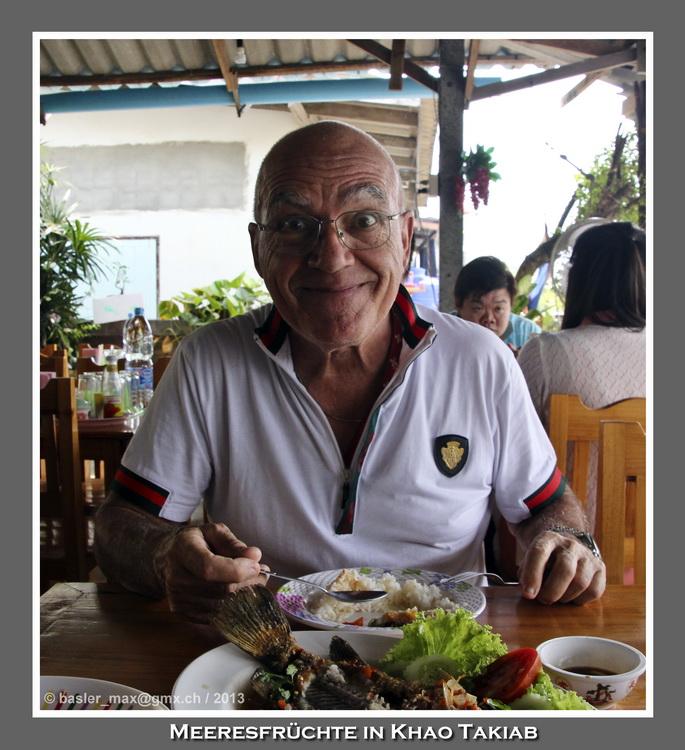 Khao Takiab Fischessen Max