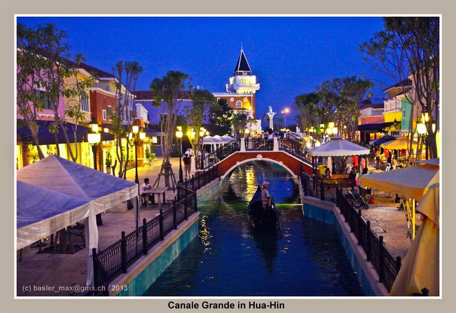 Hua-Hin Venezia: Canale Grande
