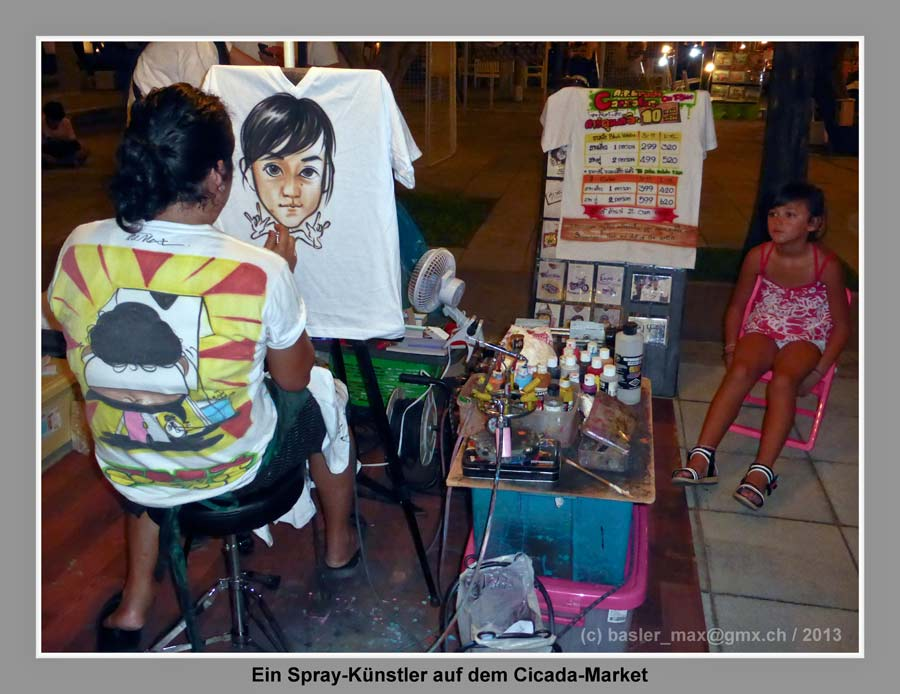 Cicada Market: Spray-Künstler