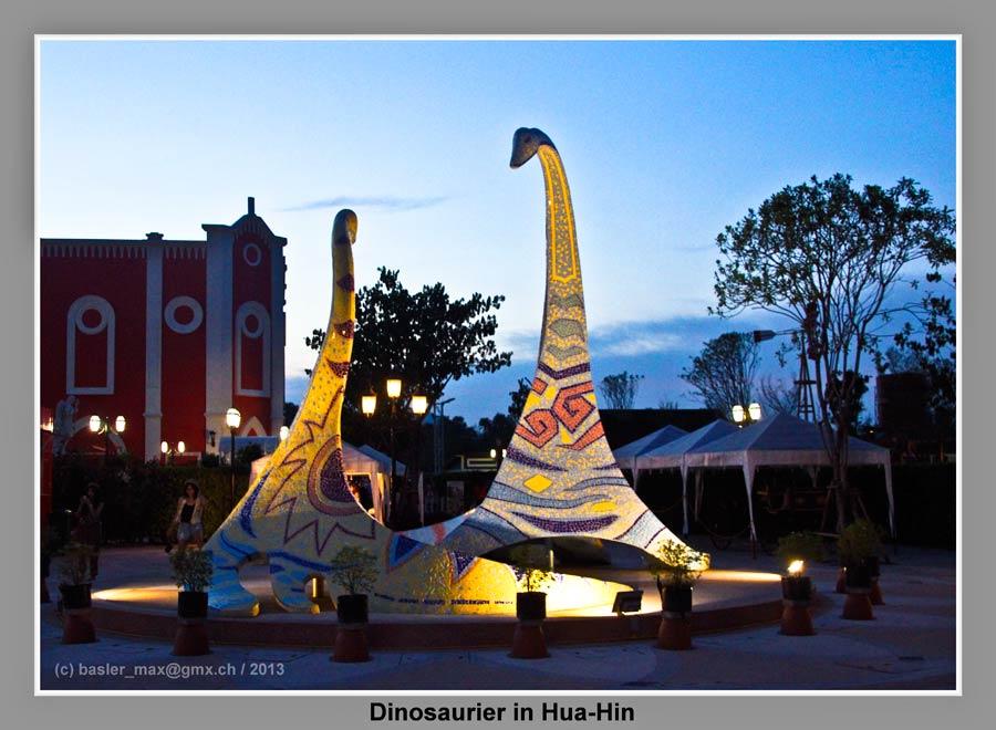 Hua-Hin Venezia Dinosauerier