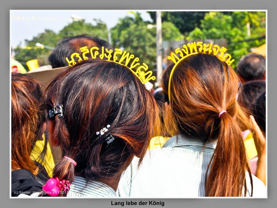 Hua-Hin: 5. Dez. Geburtstag des König Bhumibol: Lang lebe der König