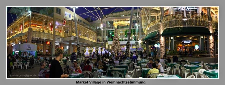 Hua-Hin Market Village Christmas Nacht