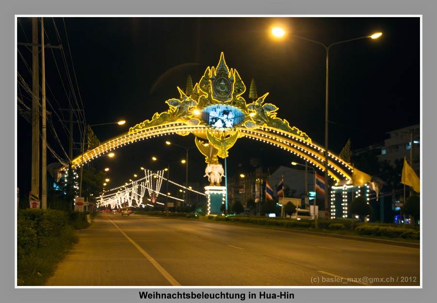 Hua-Hin Christmas Night HDR