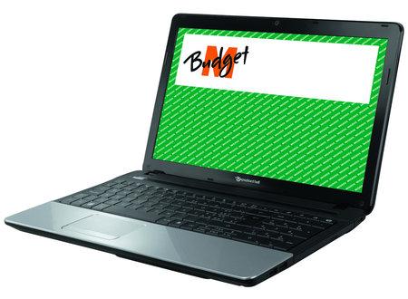 Mein Packard Bell Notebug als Budget Angebot bei Migris